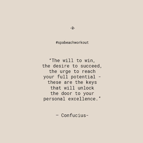 """""""The will to win, the desire to succeed, the urge to reach your full potential… these are the keys that will unlock the door to personal excellence."""" – Confucius"""