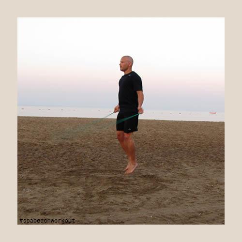 Spa Beach Workout